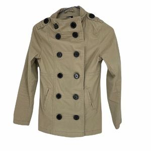 H&M kids 9-10 years structured button pea coat